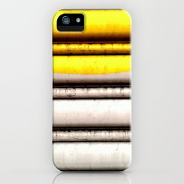 SPLASH - YELLOW iPhone Case