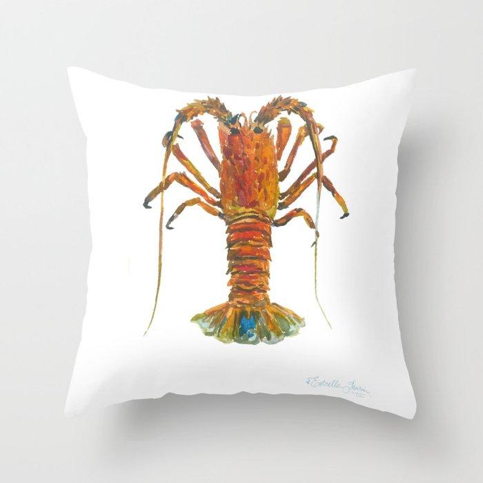 Spiny lobster Deko-Kissen