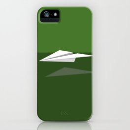 Paper Airplane 7 iPhone Case