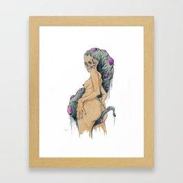 """""""Bruised"""" Framed Art Print"""