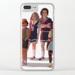 Scoops Troop Clear iPhone Case