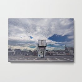 TOP DOWN Metal Print