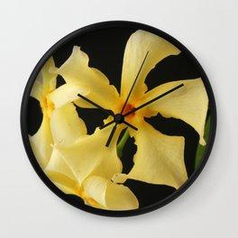 Star Jasmine Flower Wall Clock