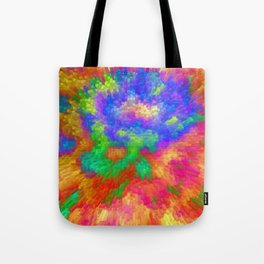 Colorfull Extrusion  Tote Bag
