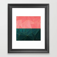 Mozaik Framed Art Print