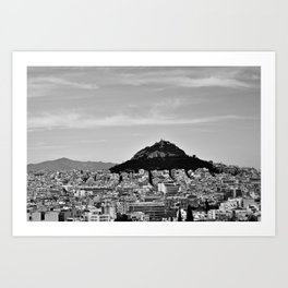 3 days in Athens, 2016 Art Print