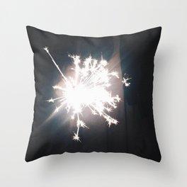 Sparks Throw Pillow