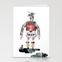 knight Stationery Cards featuring knight by swinx