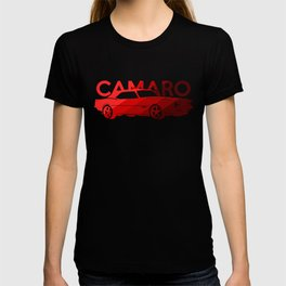 Chevrolet Camaro SS -classic red - T-shirt