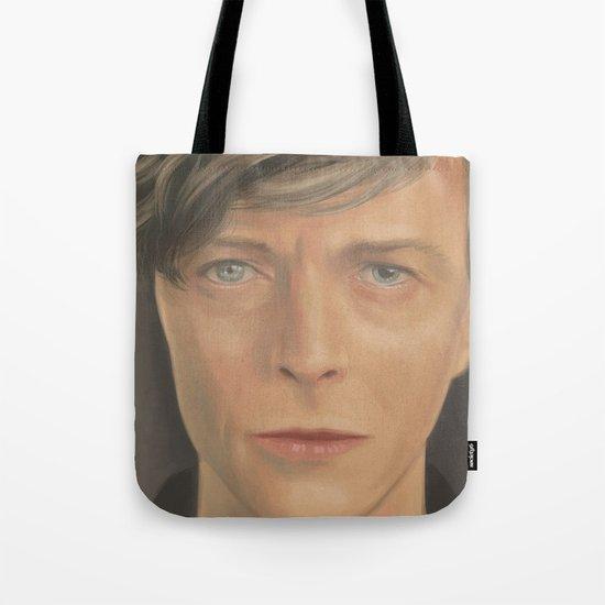 Bowie Portrait - Fan Art Tote Bag