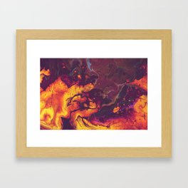Hell Itch Framed Art Print