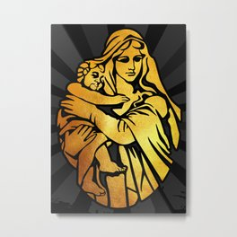 Mary, Mother of Jesus, Christianity, Religion Metal Print