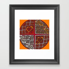 World of Love #5 Framed Art Print