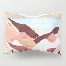 Autumn Lake Sunrise Pillow Sham