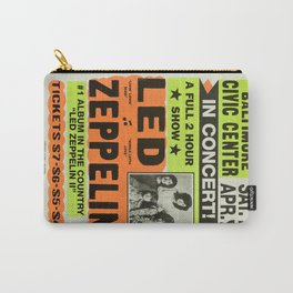 ZEPPELIN CONCERT VINTAGE POSTER Carry-All Pouch