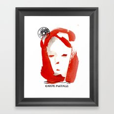 Carte Postale 1 Framed Art Print