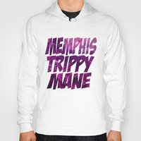 memphis Hoodies featuring Memphis Trippy by negativecreep