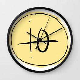 io moon Wall Clock