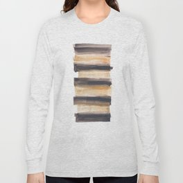 [161216] 13. Drenched|Watercolor Brush Stroke Long Sleeve T-shirt