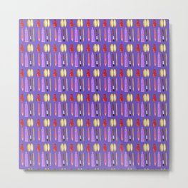 beauty products violet . art Metal Print