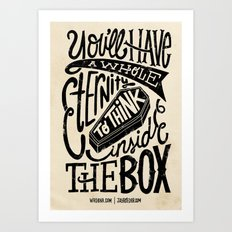 Inside The Box -Jay Roeder version- Art Print