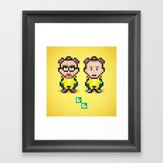 Breaking Bit Framed Art Print