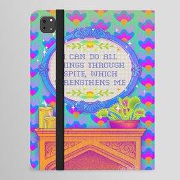 I Can Do All Things Through Spite iPad Folio Case