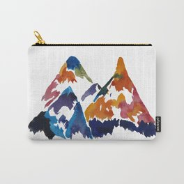 WATERCOLOR MOUNTAINS Carry-All Pouch
