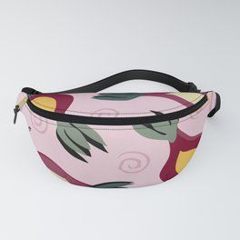 Dancing Buds in Mauve Fanny Pack