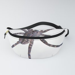 Watercolor Spider Wolf Snow, Itsy Bitsy Spider Fanny Pack