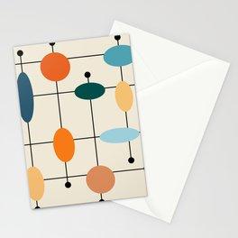 Mid-Century Modern Ovals #society6 #buyart Stationery Cards