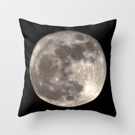 Can you see the man in the Moon smiling at us? Throw Pillow