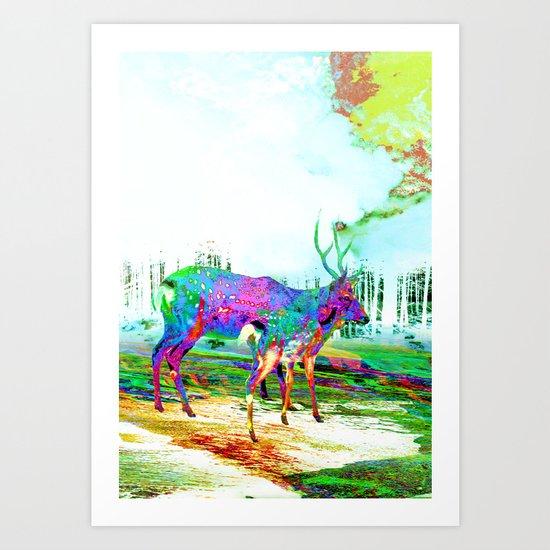 Imbue Art Print
