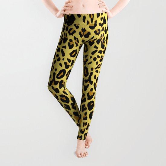 Graphic Design Tiger Leggings