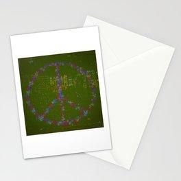 Peace B Wit U Stationery Cards