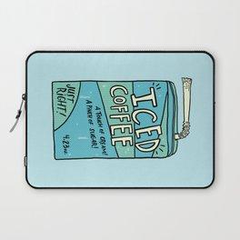 Iced Coffee Juicebox Laptop Sleeve