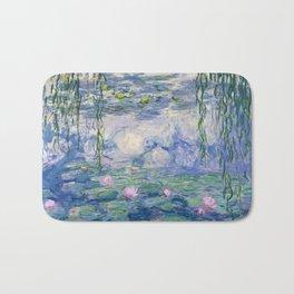 """Claude Monet """"Water Lilies(Nymphéas)"""" (9) 1916–19.jpg Bath Mat"""