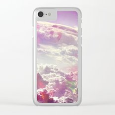 Clouds #galaxy Clear iPhone Case