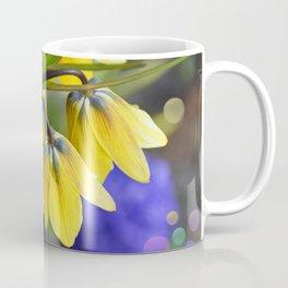Crown imperial flower (yellow, blue, orange) Coffee Mug