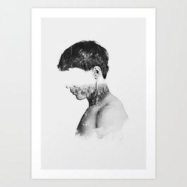 Head 2 Art Print