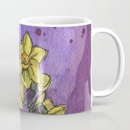 Jonquils - Watercolor and Ink artwork Coffee Mug