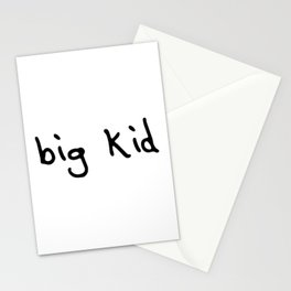 big kid Stationery Cards