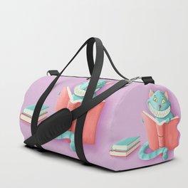 Chesire Cat Duffle Bag
