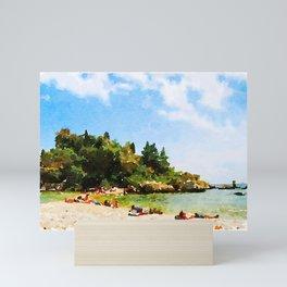 Sicilian Paradise Mini Art Print