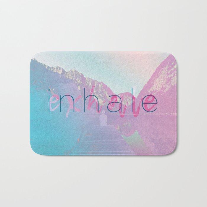 Inhale / Exhale Bath Mat