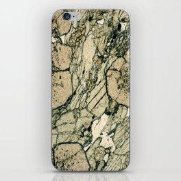 Garnet Crystals iPhone Skin