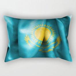 Kazakhstan Flag Rectangular Pillow
