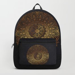 -A27- Original Heritage Moroccan Islamic Geometric Artwork. Backpack