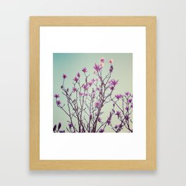Reach for the light Framed Art Print