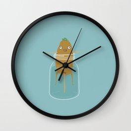 Potato Growth Wall Clock